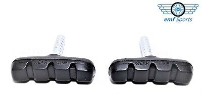 PROMAX Brake Pads (Blocks) For Bikes / Cycles: 50mm Cantilever Threadless Post • 1.95£