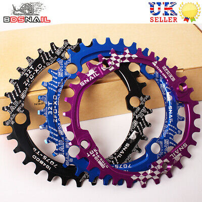 104bcd 30-52t Narrow Wide Chainring MTB Bike Crankset Crank Fit Shimano SRAM • 15.89£