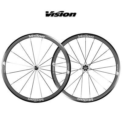 Vision Team 35 Alloy Bicycle Wheelset PAIR 9 10 11 Speed – RRP £339.99 • 199.99£