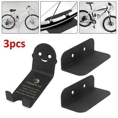 Bike Bicycle Cycling Pedal Tire Wall Mount Storage Hanger Stand Rack 3PCS • 10.99£