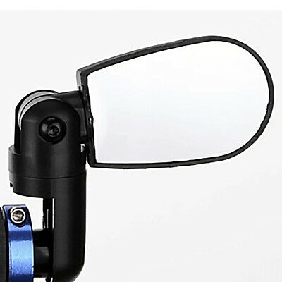 Rotate MTB Cycling Bicycle Bike Handlebar Rearview Mirror Set Safety UK Stock • 5.60£
