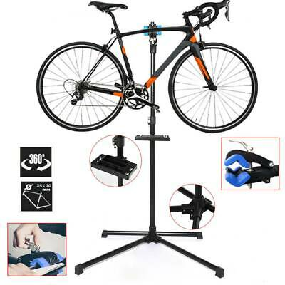 Heavy Duty Bicycle Workstand Adjustable Bike Cycle Repair Stand Home Tool • 33.69£