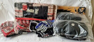 Job Lot Of Cycling Clothing & Spares-New Old Stock-Helmet, Gloves Etc • 30£