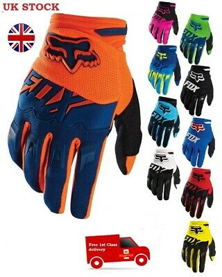 Black Fox Racing Dirtpaw Race Gloves MX Motocross Dirt Bike Off Road ATV KTM TLD • 12.95£