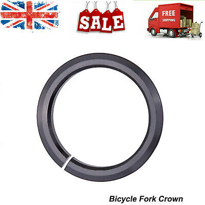 Bicycle Tapered Fork Open Crown Race Replacement Headset Base Ring For 1.5 Inch • 3.02£
