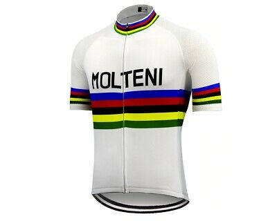 Molteni Retro Vintage Classic Cycling Team Bike Jersey • 19.99£