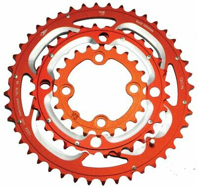 Aerozine Chain Ring 7075AL T6 CNC Machined 8, 9 10 Spd 104, 64 Bcd Shimano • 32.03£