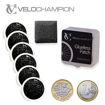 VeloChampion Lightweight Bike Puncture Repair Glueless Self-Adhesive Patches Kit • 4.95£