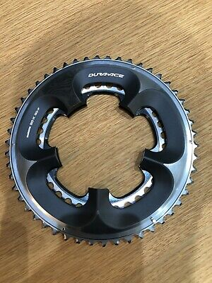Shimano Dura-Ace SG-X 50T / 34T 110 BCD. 5-Arm Chainrings • 10.50£