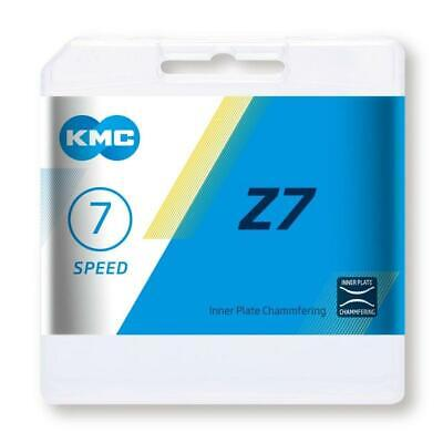 KMC Z7 7 Speed Chain For Road & MTB Cycling Grey/Brown • 9.79£
