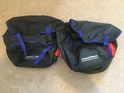 Karrimor Cycling Panniers Pair • 5.50£
