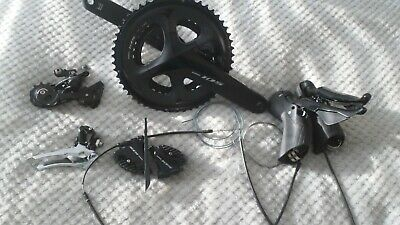 Shimano 105 7020 7000 Hydraulic Disc Brake Groupset Exceptional Used Condition • 300£