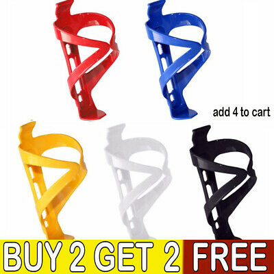 Plastic Water Bottle Cage HOLDER BRACKET For Cycling Bicycle Bike Drink LE • 3.59£