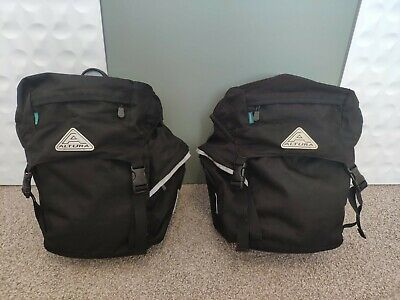 Altura Arran Cycle Panniers.  Pair, Also Includes Rain Covers.  Good Condition • 8£