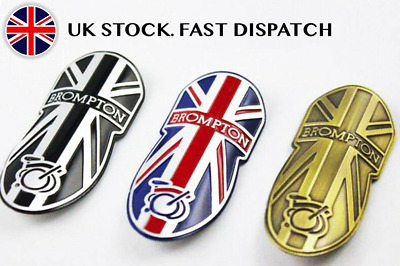 Metal Brompton Head Badge Decal • 8.79£