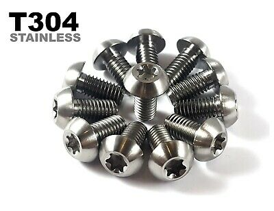 12 X Rust Proof Stainless Steel M5x10mm Brake Disc Rotor Bolts • 4.49£