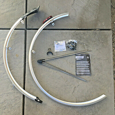 SKS Chromoplastic Road Mudguard Set 700c 35mm Silver  • 0.99£