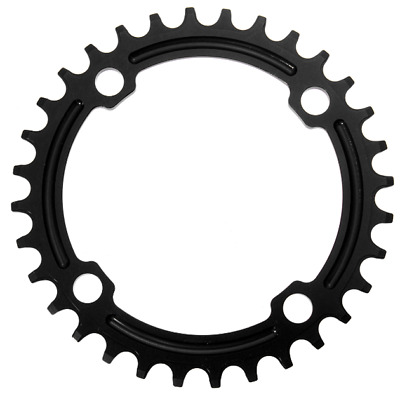 SNAIL BCD 104mm Tooth Chain Bike Narrow Wide Round Oval Chainring Ring 32T-42T • 14.99£