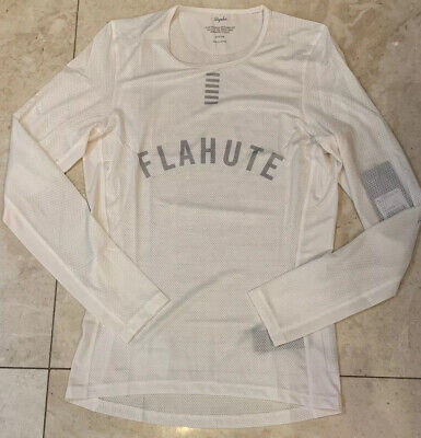 Rapha Pro Team Base Layer Long Sleeve White Size Large Brand New With Tag • 48.50£