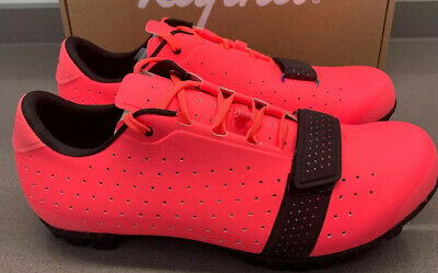 Rapha Explore Cycling Shoes High-Vis Pink Size 44 EU Brand New Boxed • 215£