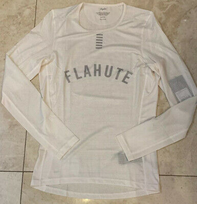 Rapha Pro Team Base Layer Long Sleeve White Size Medium Brand New With Tag • 54£