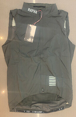 Rapha Pro Team Insulated Gilet Green Grey Large Brand New With Tag • 125.50£