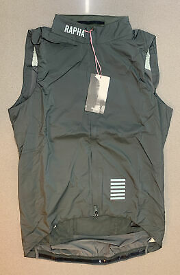 Rapha Pro Team Insulated Gilet Green Grey Medium Brand New With Tag • 104.50£