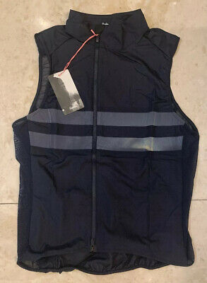 Rapha Brevet Gilet With Pockets Dark Navy Small Brand New With Tag • 95£