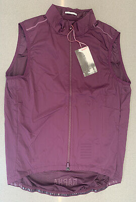Rapha Pro Team Lightweight Gilet Plum Size Large Brand New With Tag • 95£