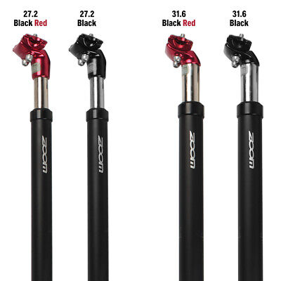 Suspension Bicycle Seatpost Seat Post Shock Absorption Damping Aluminium Tube • 23.99£