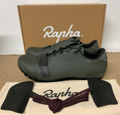 Rapha Explore Cycling Shoes Dark Green Size 9.5 UK 44 EU Brand New Boxed • 195£
