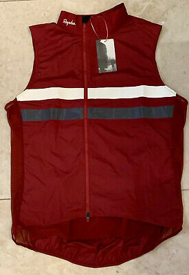 Rapha Brevet Gilet With Pockets Red X Large Brand New With Tag • 95£