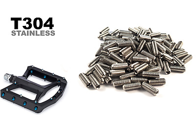 Pedal Pins - Rust Proof Stainless Steel - Bolts Bikes Downhill MTB • 4.99£