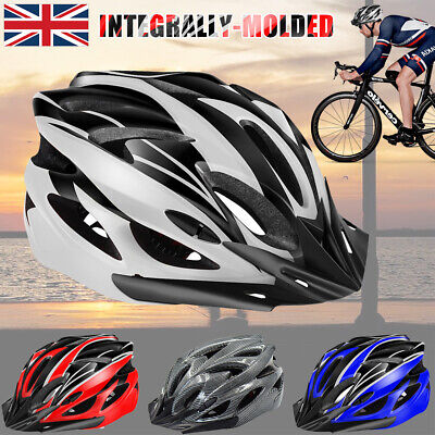 Protective Mens Adult Road Cycling Safety Helmet MTB Mountain Bike/Bicycle/Cycle • 19.99£