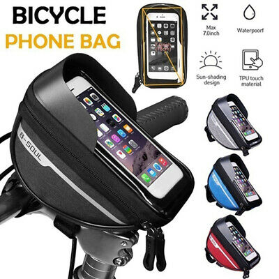 Waterproof Bicycle Bike Mount Phone Holder Case Bag Pouch Cover For Mobiles AR • 7.95£