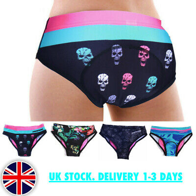 Womens Padded Cycling Underwear, Shorts. UK Stock. Fast Dispatch. Cycling • 9.99£
