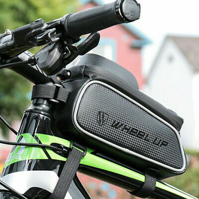 2020 Waterproof Mountain Bike Frame Front Bag Pannier Bicycle Mobile Phone Hold • 15.99£