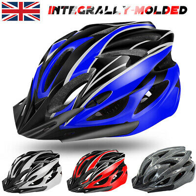 Adult Mens Ladys Bike Helmet Cycling Adjustable Safety Helmet Outdoor Protective • 17.99£
