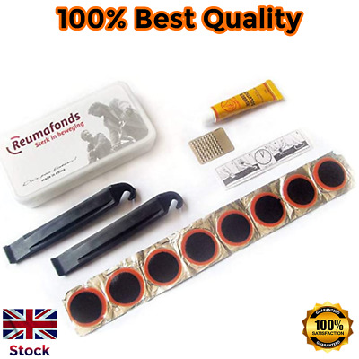 New Bicycle Bike Cycle Inner Tube Puncture Repair Portable Tool Kit Patch Glue • 2.99£
