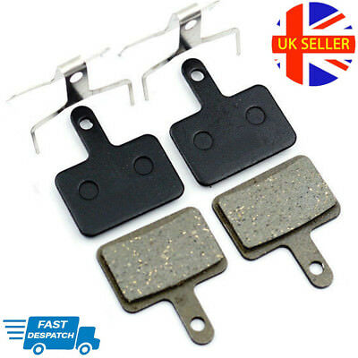 Replacement Disc Brake Pad Set X 2 Pairs For Shimano Hydraulic/ Mechanical       • 8.99£