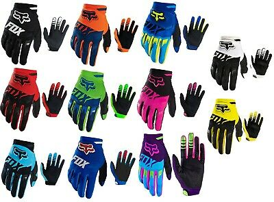 Black Fox Racing Dirtpaw Race Gloves MX Motocross Dirt Bike Off Road ATV KTM TLD • 12.49£