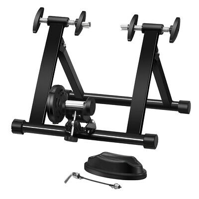 Indoor Exercise Bike Trainer Stand Portable Magnetic Turbo Resistance Training • 77.99£