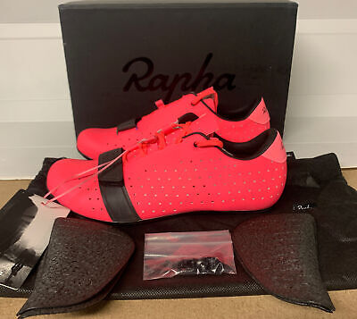 Rapha Classic Cycling Shoes High-Vis Pink Size 6.25 UK 40 EU Brand New No Box • 199£