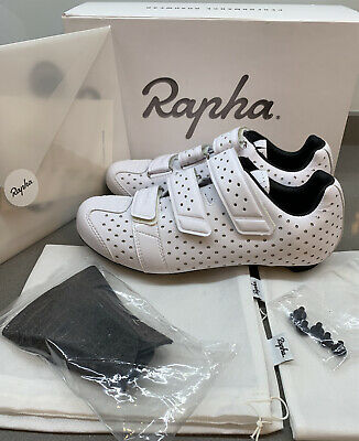 Rapha Climber's Cycling Shoes White Size 6.75 UK 40.5 EU Brand New Boxed • 199£
