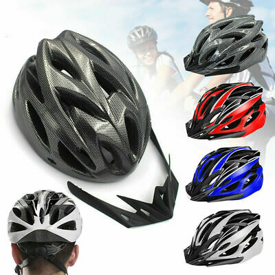 Mountain Bike Road Helmet Adjustable Mens Womens Adult Sport Cycling Bicycle UK • 9.99£