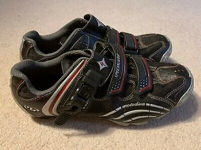 Specialized Motodiva Ladies MTB Cycling Shoes In Black/red/silver - Size 4.5 • 20£
