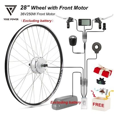 36V 250W 28 (700C) Wheel With Front Motor Electric Bicycle Ebike Conversion Kit  • 227.99£