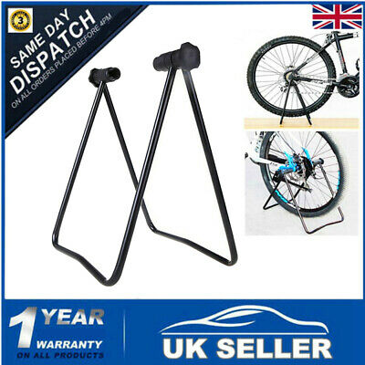 Bike Stand Adjustable Floor Parking Display Rack Bicycle Storage Folding Holder • 9.59£