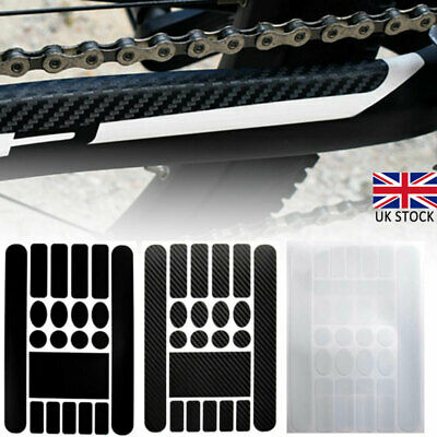 MTB Mountain Bike Frame Stickers Set Road Bicycle Protection Decal Practical UK • 4.95£