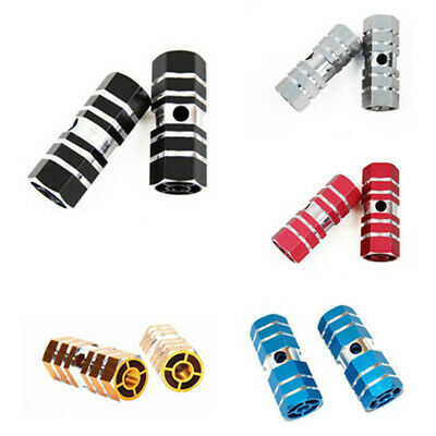2x BMX Mountain For Bike Bicycle Axle Pedal Alloy Foot Stunt Pegs Mark Cylinder • 2.97£